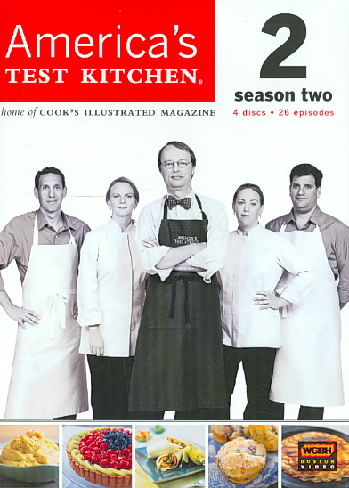 AMERICA'S TEST KITCHEN SEASON 2 BY AMERICA'S TEST KITCH (DVD)
